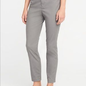 Mid Rise Ankle Pixie Chinos, LIKE NEW